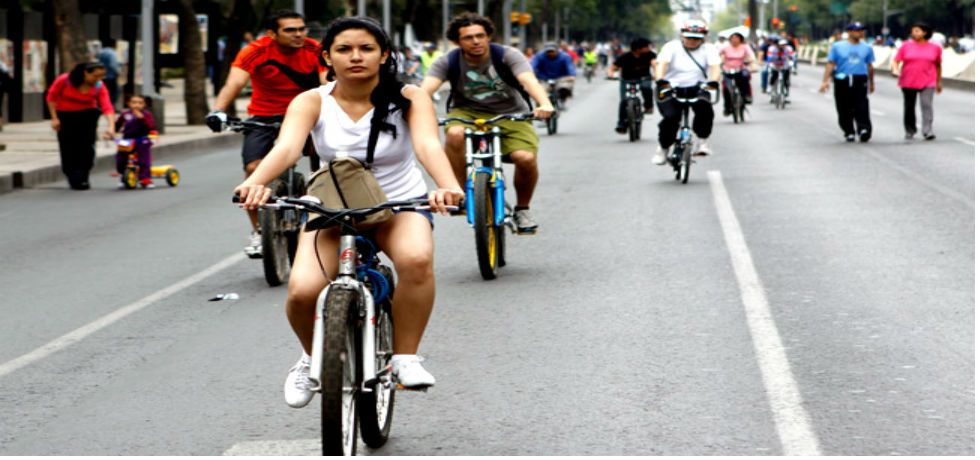 Expanden ciclovía de 20 de Noviembre - Foto de Animal Político