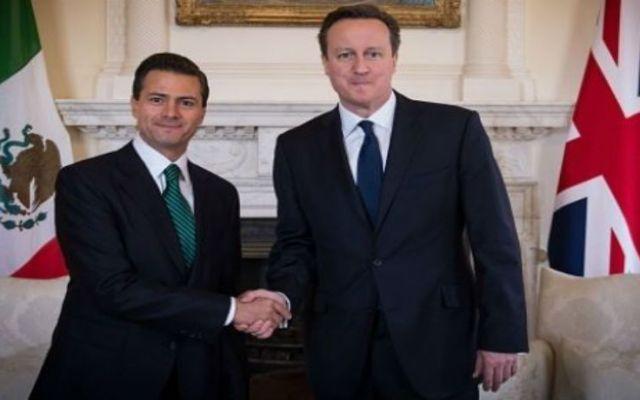 EPN felicita a David Cameron por triunfo electoral - EPN felicita a Cameron
