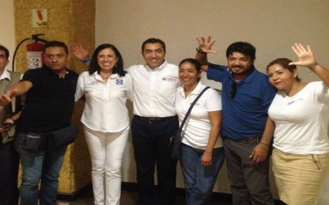Atacan a equipo de Jorge Camacho en Petatlán - Foto Facebook de Jorge Camacho
