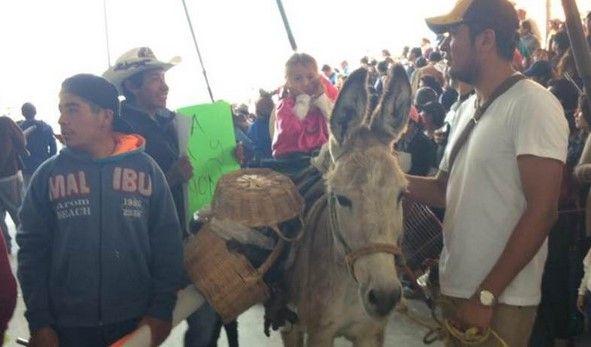 """Rinden homenaje a la """"India María"""" en la Feria del Burro - Feria del Burro de Otumba"""
