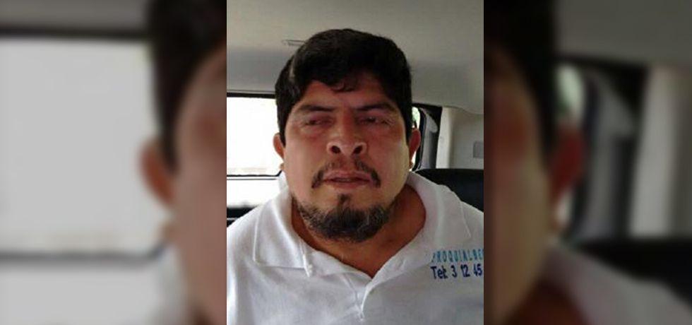 Detienen a ex subdirector de la Policía de Iguala - Detenido