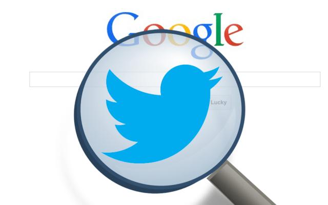 Google priorizará tuits en las búsquedas