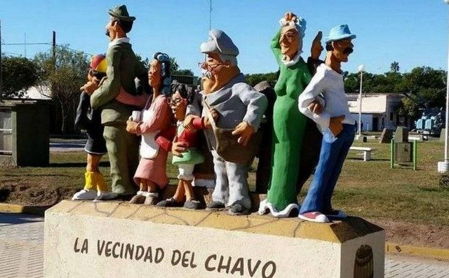 """Polémica por monumento de """"El Chavo del Ocho"""" - Foto de @Diaadiacomar"""
