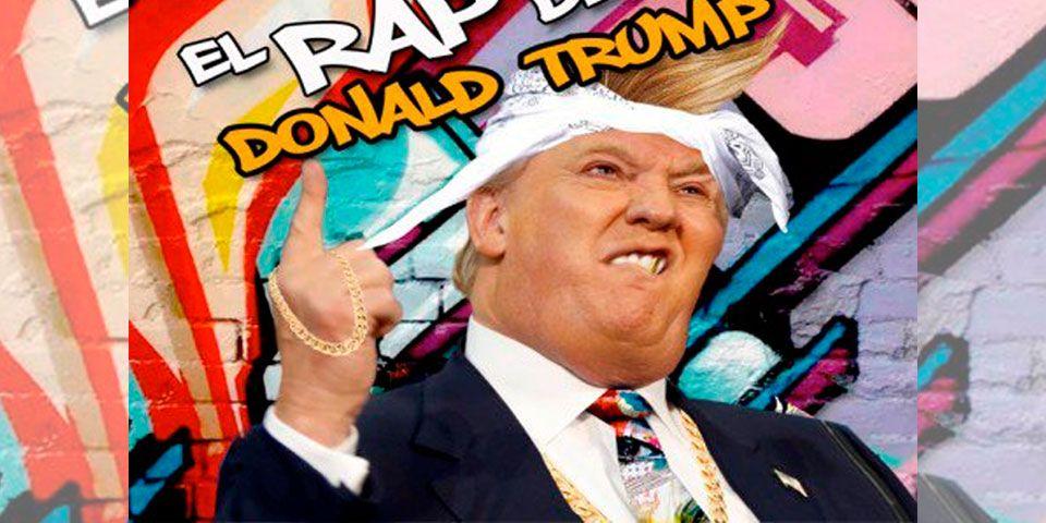 Mexicana compone rap contra Donald Trump - Foto de Youtube