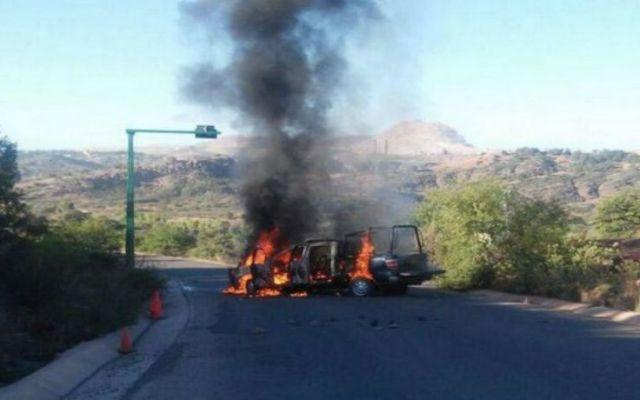 Bloquean acceso de la mina Buenavista del Cobre - Foto de @noticiastelemax