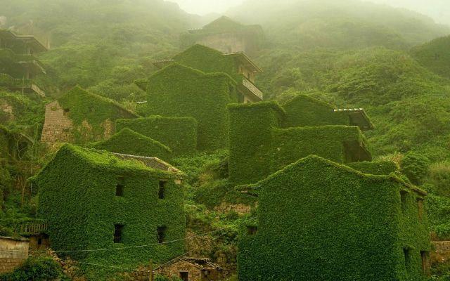 Imágenes: pueblo fantasma verde