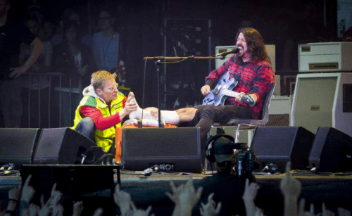 Foo Fighters cancela gira por fractura de Dave Grohl - Foto de Foo Fighters