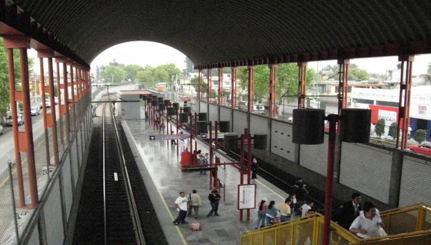 Anuncia Metro cierre temporal de 5 estaciones de Línea A - Línea A del Metro. Foto de algoqueinformar.com