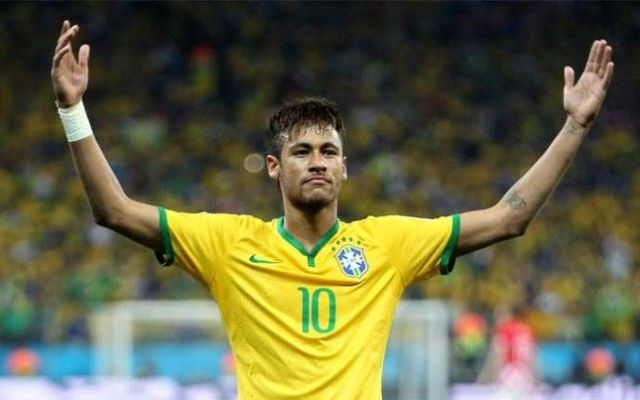 Video: Neymar anota desde atrás de la portería - Neymar tuvo un buen partido ante Perú el día de ayer. Foto de Sport.