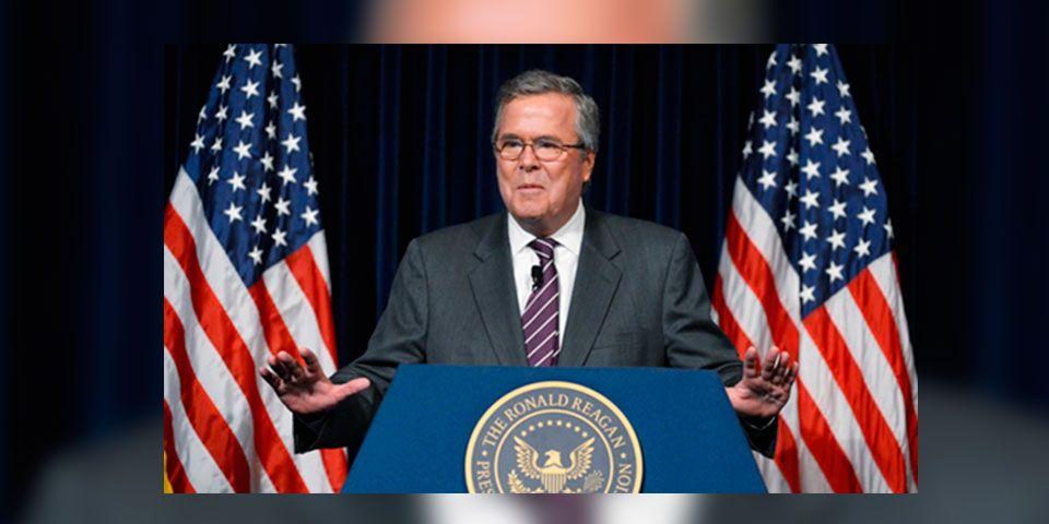 Jeb Bush se postula a la presidencia de EE.UU.