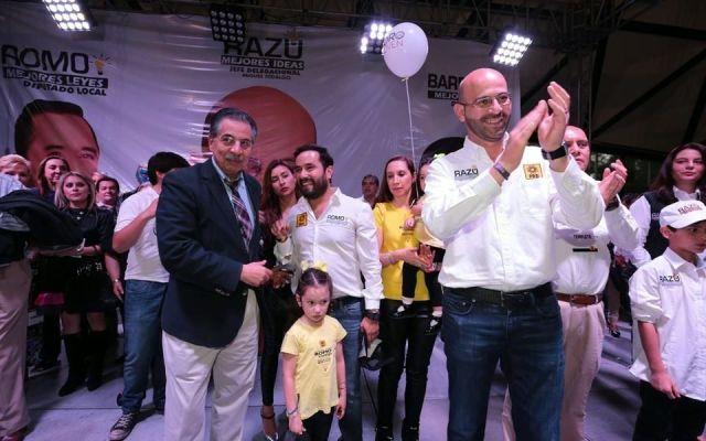 Sanciona TEDF a perredistas por promoción anticipada - Foto de Reforma
