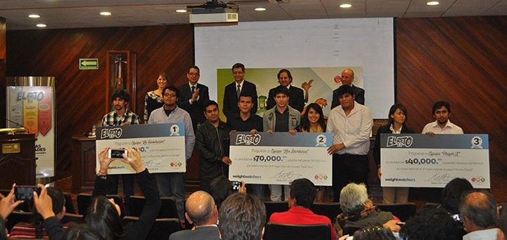 Mexicanos crean videojuegos contra la obesidad infantil - Los ganadores del concurso. Foto de Weight Watchers