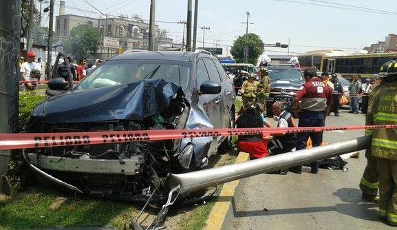 Un muerto y dos lesionados por choque en Vallejo - Foto de @luismiguelbaraa