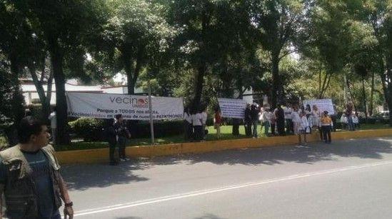 Protestan contra declaratoria de Pueblo Mágico en San Ángel - Foto de Internet