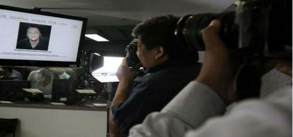 El Menchito ingresa a las instalaciones de la SEIDO - Foto de José Cárdenas