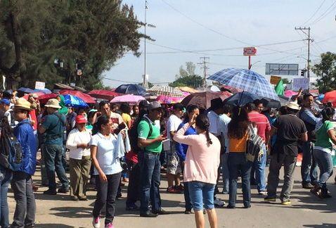 Sección 22 marcha en Oaxaca