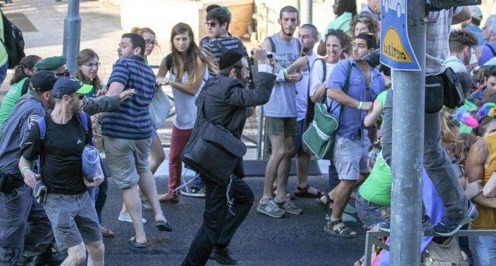 Hombre apuñala a 6 personas en la marcha gay de Jerusalén - Foto de Internet