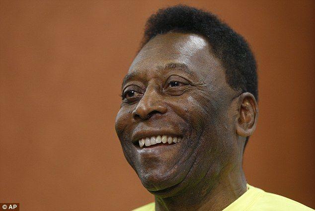 Pelé. Foto de Daily Mail
