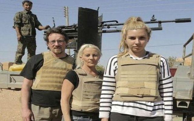 Reality show graba en territorio disputado por el Estado Islámico - Foto de Daily Mail Online