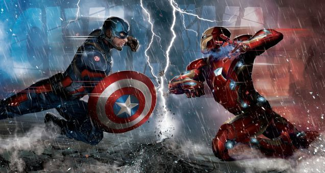 Revelan equipos de superhéroes que se enfrentarán en Civil War