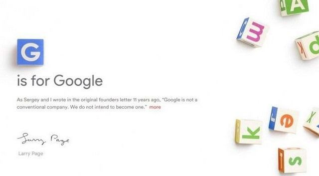 Alphabet, la empresa que albergará a Google - Alphabet. Foto de Internet
