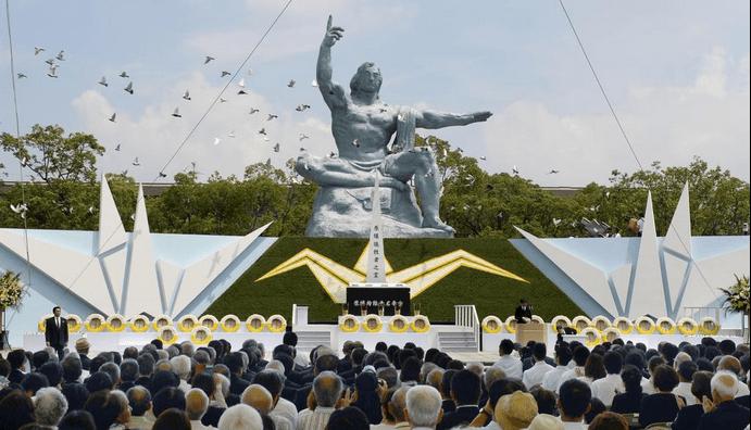 Recuerdan la caída de la bomba atómica en Nagasaki - Foto de Reuters