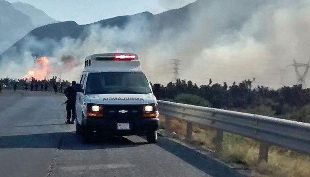 Cuatro muertos por explosión de gasoducto en Nuevo León - Foto de El Norte