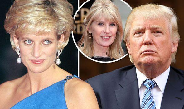 Donald Trump trató de seducir a la princesa Diana - Foto de Express