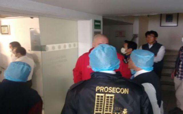 Fuga de amoniaco provoca evacuación en Naucalpan - Foto de El Universal.