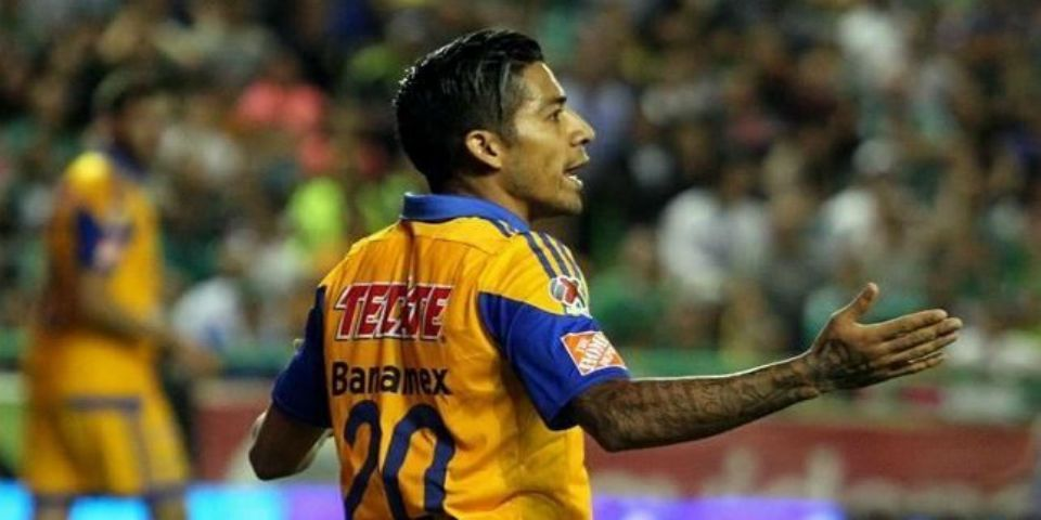 Tigres es el último en la Liga MX - Javier Aquino. Foto de Cancha