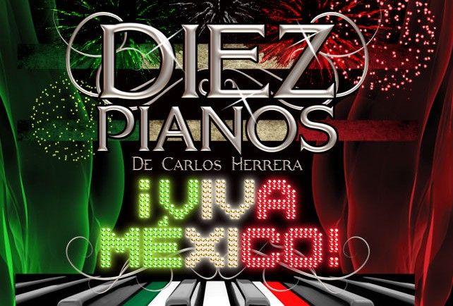 Homenaje a compositores mexicanos con 'Diez Pianos. Viva México' - Foto de tokinrecords.com