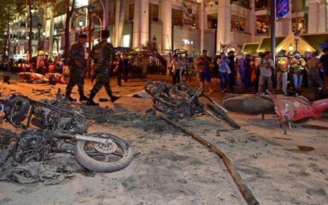 Descartan participación terrorista en atentado en Tailandia - Foto de AFP.