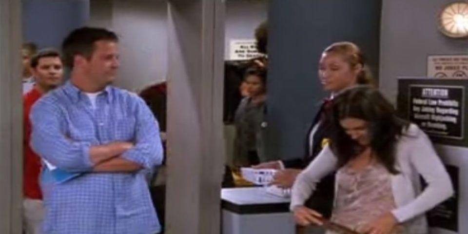 Escena inédita de Friends - Foto de YouTube.