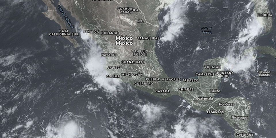 Se formaría depresión tropical al sur de BCS - Foto de @metmex