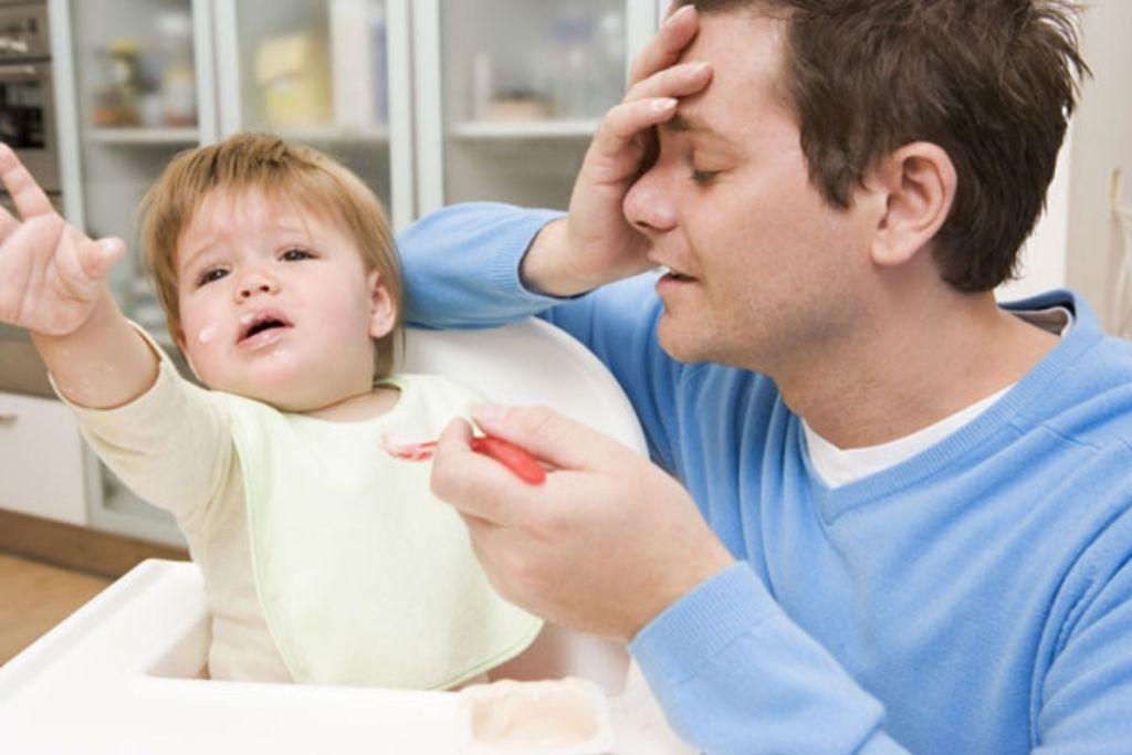 ¿Por qué los padres se estresan cuando tienen un hijo? - Foto de elnacional.com.do