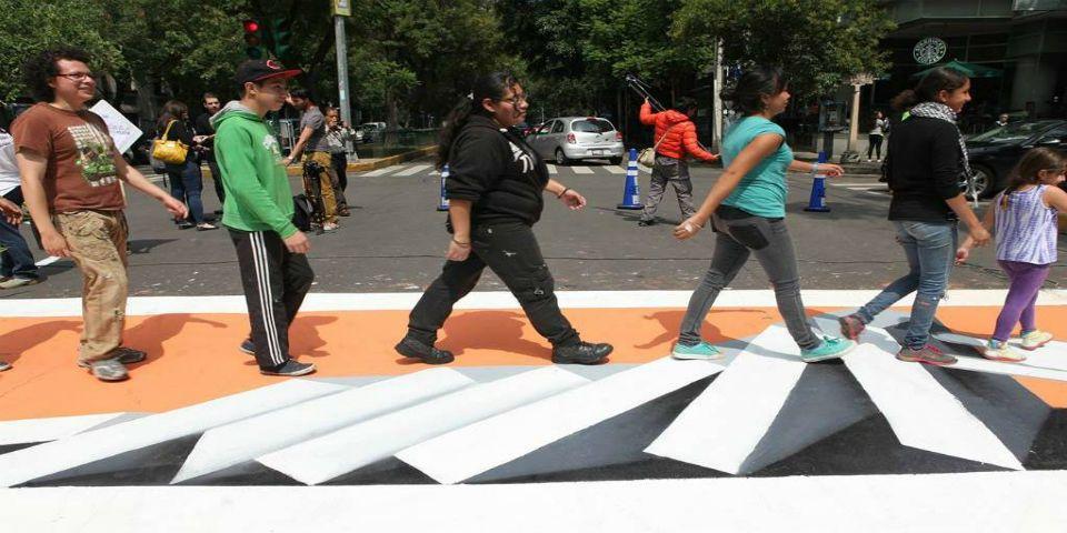 Cada año mueren ocho mil peatones en México - Foto de El Universal.