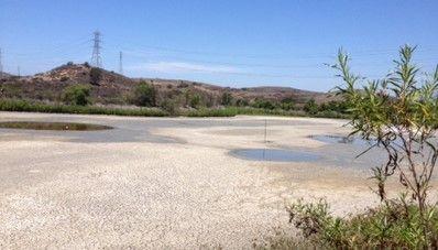 Desaparece lago en el condado de Orange, EE.UU.