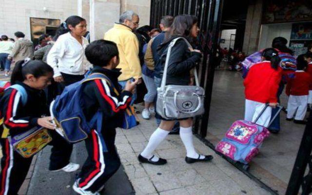 Regresan a clases más de 25 millones de alumnos en México - Foto de archivo