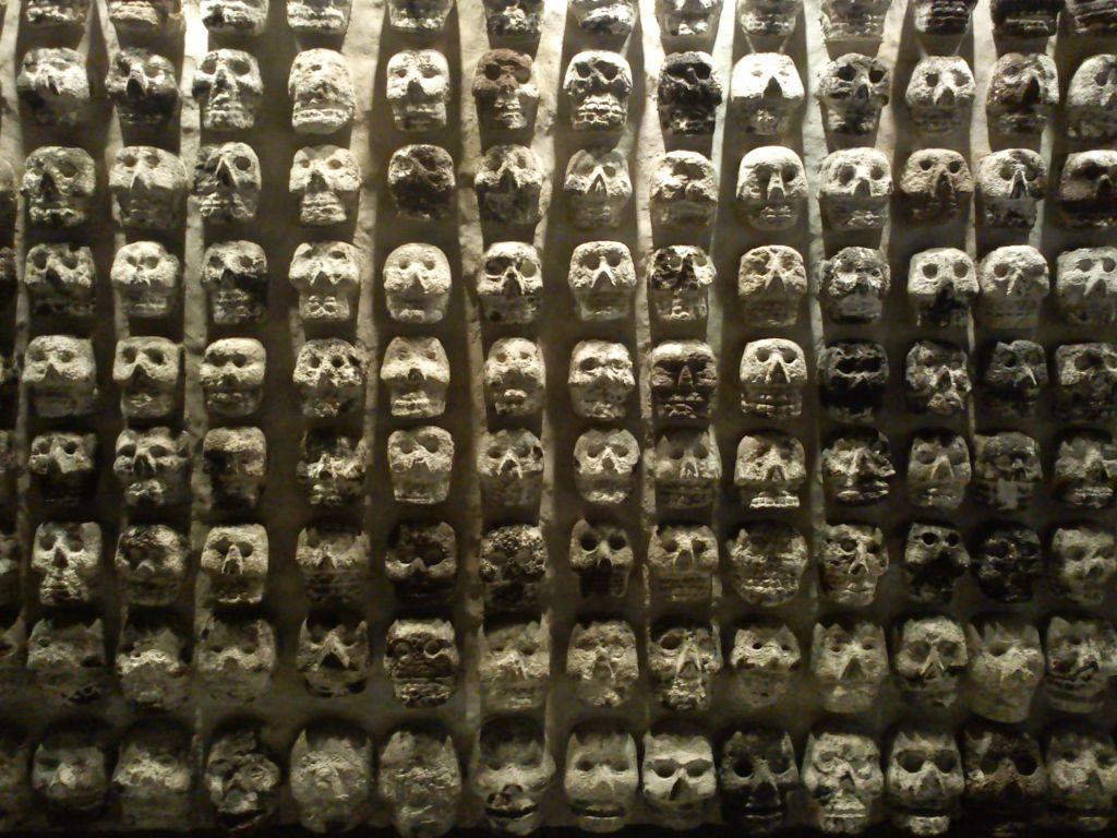 Encuentran el Tzompantli más grande de Tenochtitlán - Foto de Wordpress