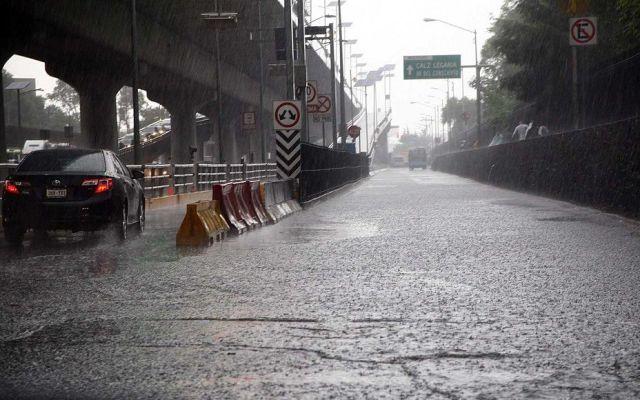 Fin de semana de lluvias en la Ciudad de México