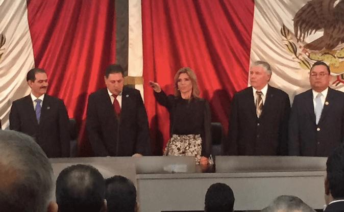 Claudia Pavlovich rinde protesta como gobernadora de Sonora