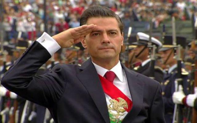 Desfile militar del Día de la Independencia en imágenes - Foto de @PresidenciaMX