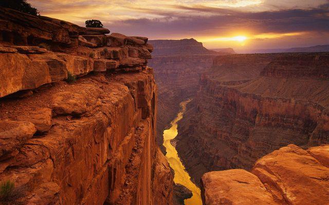 Video: el Gran Cañón a 30 kilómetros de altura - Foto de Internet