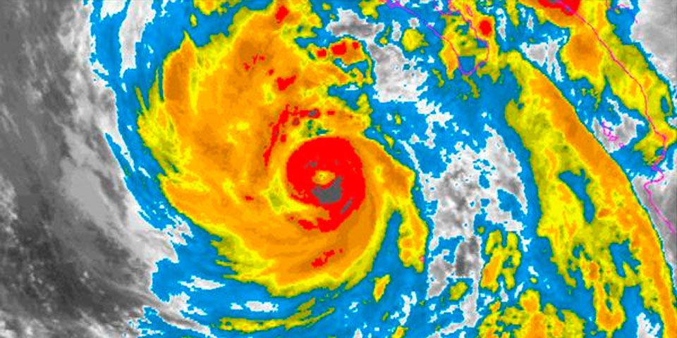 Huracán Linda provocará lluvias en siete estados - Foto de NOAA