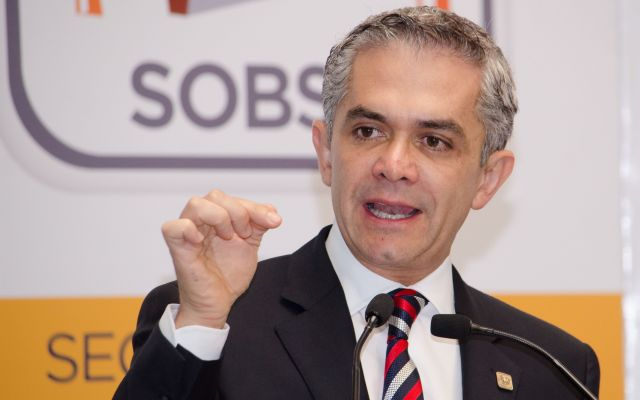 Mancera mantiene planes de buscar candidatura presidencial - Miguel Ángel Mancera, jefe de gobierno del Distrito Federal