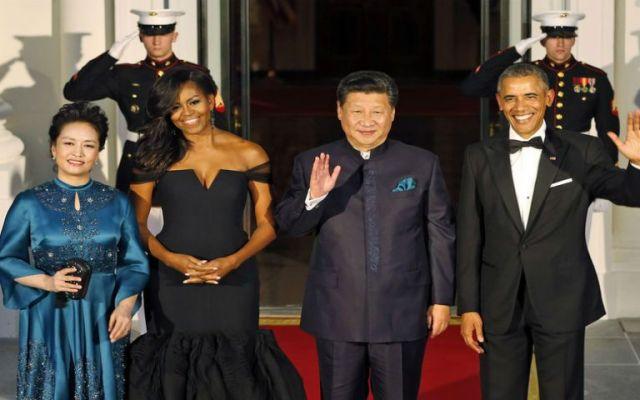 Los invitados en la cena que Obama ofreció al presidente de China