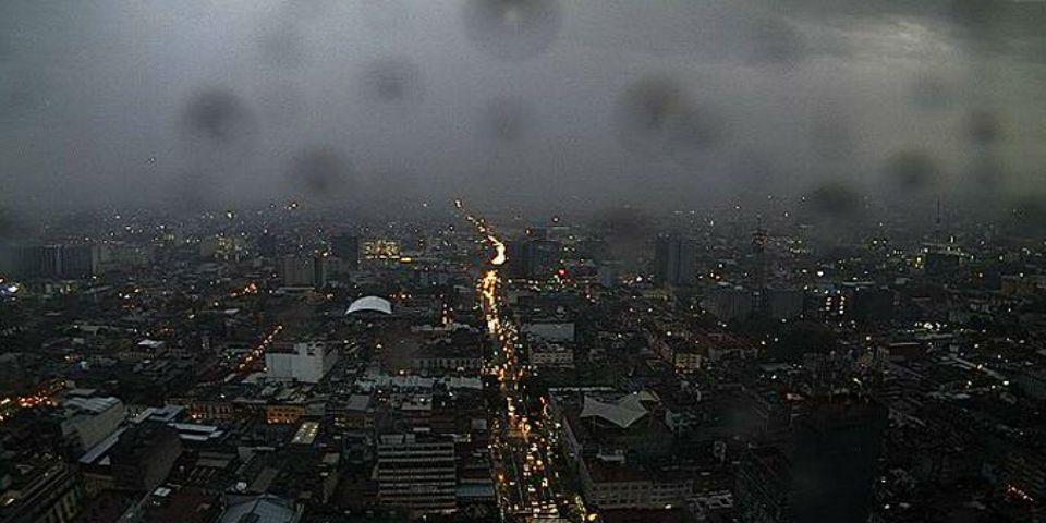 Alerta por tormenta en el Valle de México