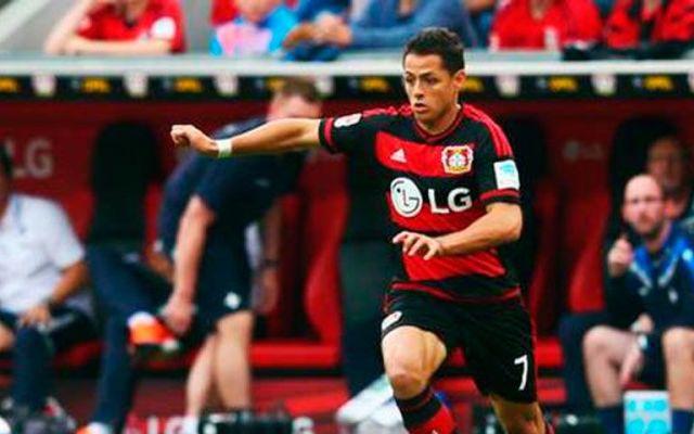 Chicharito se estrena en Champions con el Leverkusen - Foto de Goal