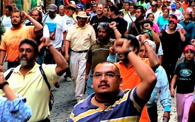 Habrá tres manifestaciones en el centro y sur del Distrito Federal - Manifestaciones. Foto de 60 minutos