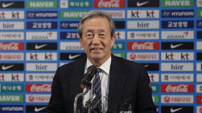 Chung Mong-joon. Foto de Sky Sports